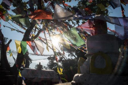 26 - Tibetan flags, Kathmandu (2018)