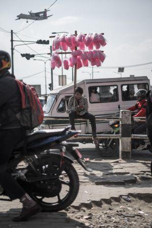 24 - Street scene, Kathmandu (2018)