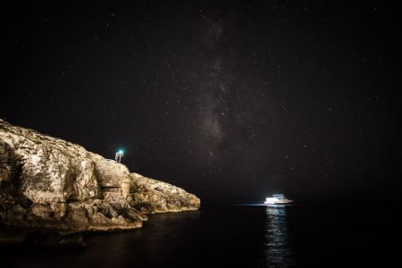 45 - Night sky, Lampedusa (2015)