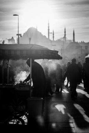 37 - Street vendor, Istanbul (2014)