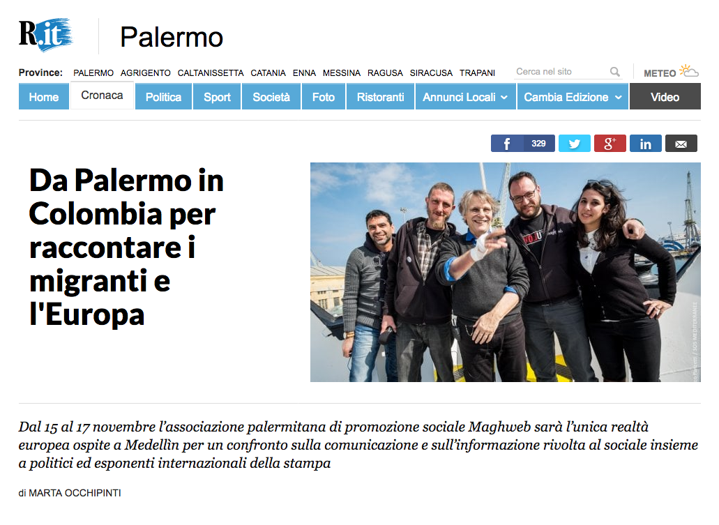 Marco Panzetti's photographs publication in La Repubblica