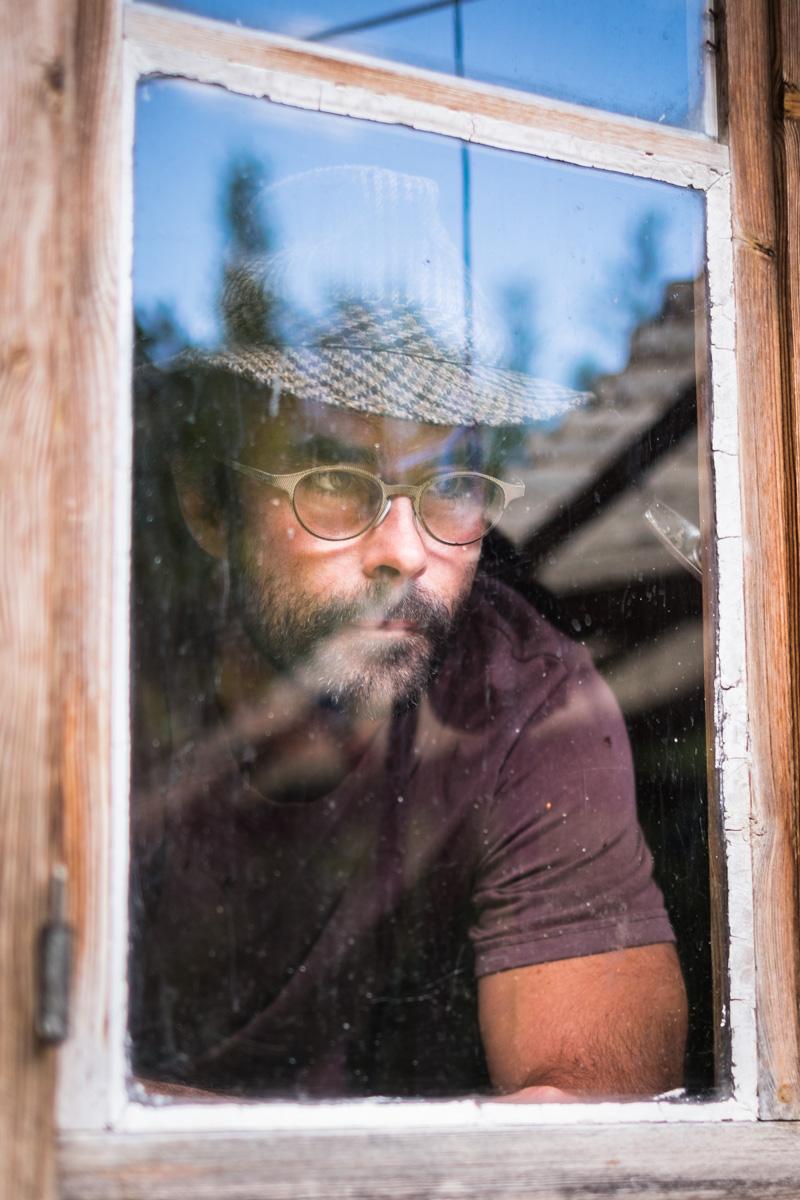 Portrait of Cédric Herrou