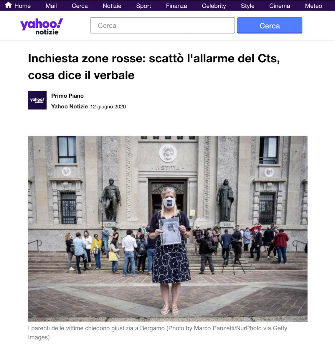 Publication on Yahoo News
